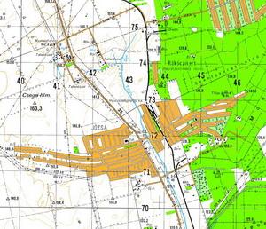 Katonai térkép